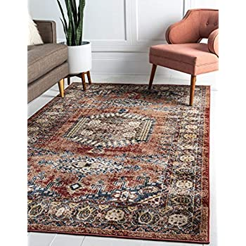 Amazon.com: nuLOOM Linda Tribal Area Rug, 5 3