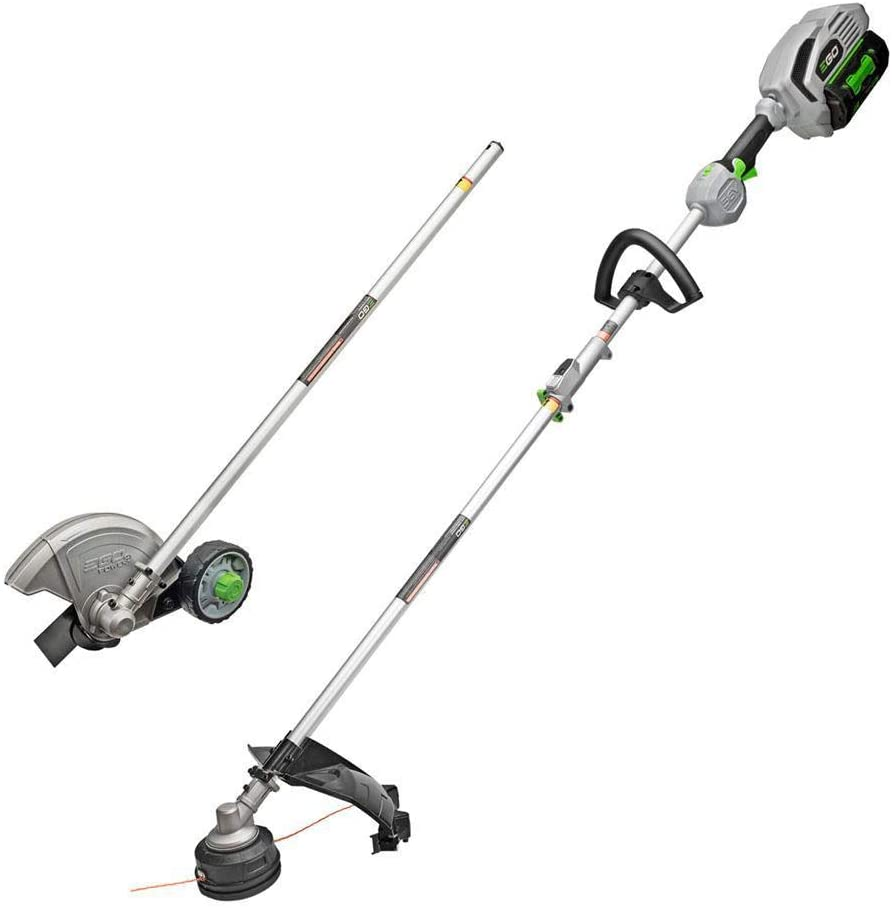 EGO Power+ MHC1502 Multi Combo Kit: 15 String Trimmer, 8-Inch Edger & Power Head with 5.0Ah Battery & Charger Included