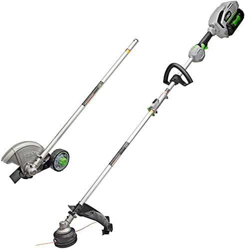 EGO Power MHC1502 Multi Combo Kit 15 String Trimmer, 8-Inch Edger Power Head with 5.0Ah Battery Charger Included