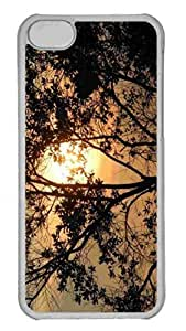 LJF phone case Customized iphone 4/4s PC Transparent Case - Sunrise At Mount Lembing Malaysia Personalized Cover