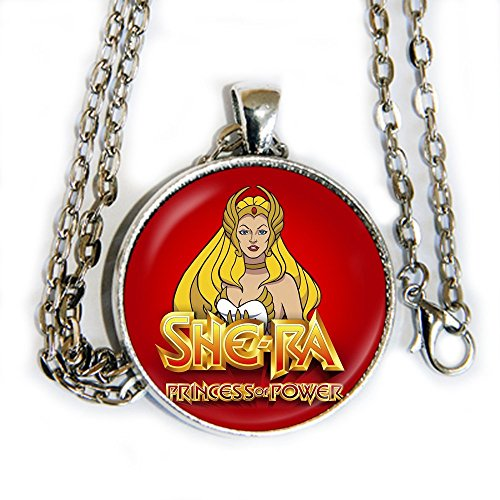 SHE-RA Princess of power - pendant necklace - HM]()