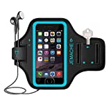 iPhone 6S/7/8 Plus Armband, JEMACHE Gym Running/Workouts Arm Band Case for iPhone 6/6S/7/8