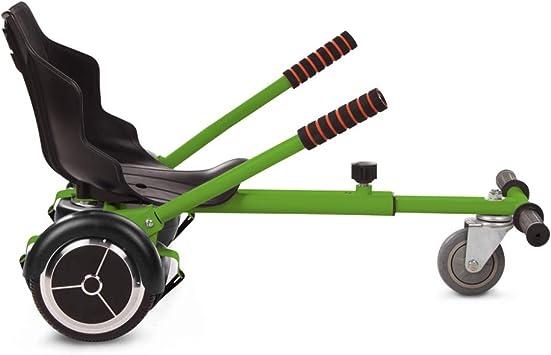 Tango Hoverkart Go-Kart Kit Patinete Eléctrico, Longitud Ajustable, Compatible 100% con Hoverboards - Hoverboard No Incluido (Verde): Amazon.es: Juguetes y juegos