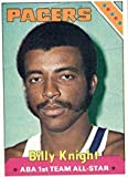 1975 Topps Basketball Billy Knight # 223 (ABA 1st Team All-Star) Pacers Rookie