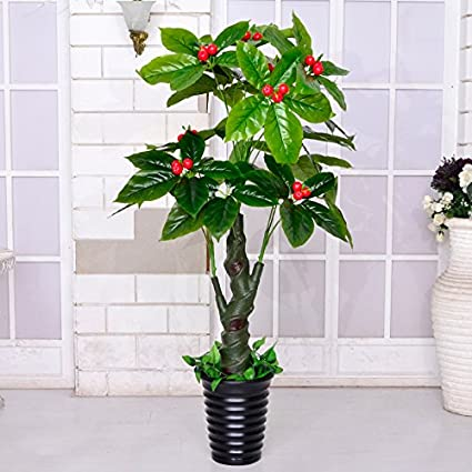 Amazon.com: Fake tree simulation tree plants potted bonsai plants ...