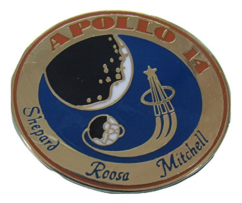 Apollo 14 Lapel Pin Official Nasa Edition ()