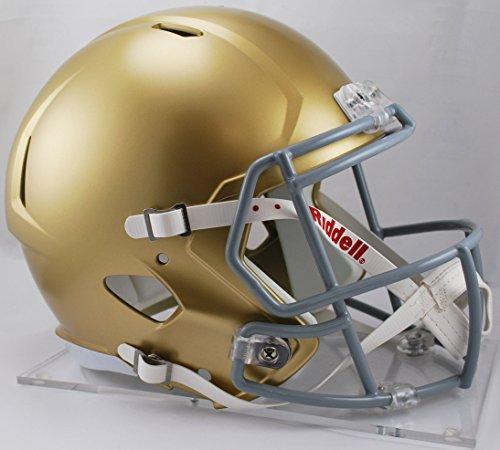 (NOTRE DAME FIGHTING IRISH NCAA Riddell SPEED Full Size REPLICA Football Helmet)