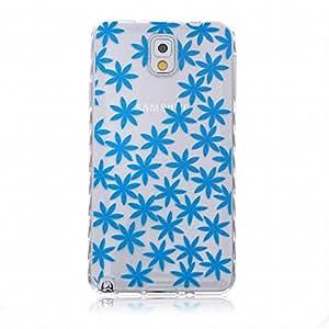 Para Samsung Galaxy Note 3 / N900 Funda Carcasa, Ougger Transparente Stars Delgado TPU Caucho Silicona Claro Protector Bumper Ligero Piel Tapa