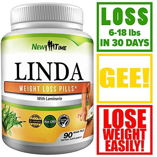 inda - Weight Loss Pills for Women & Men - Natural Herbal Diet Supplements - Appetite Suppressant That Work Fast - Best Diet Pills 90 Pills