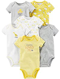 Simple Joys by Carter's Baby 6-Pack Embellished...