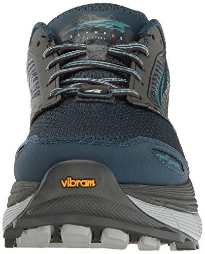 Altra Olympus 2,5 Womens Trail Löparskor | Noll Drop Plattform Footshape Tårna, Fit4her Womens-specifik Design | Komfort Och Stabilitet På Alla Terränger Grå / Blå