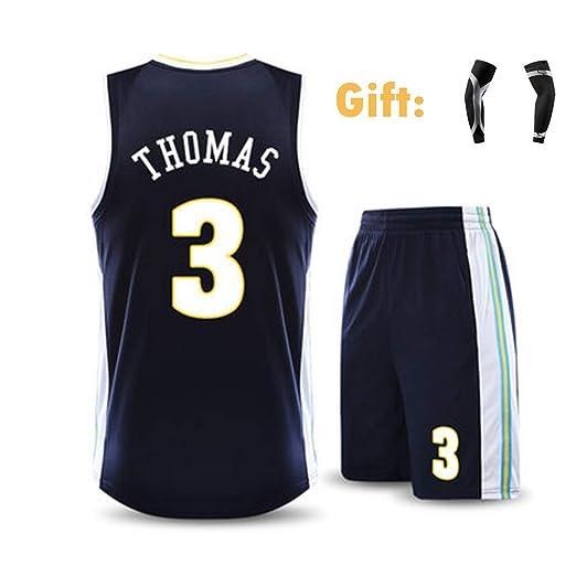 Jersey De Hombre Isaiah Thomas # 3 Denver Nuggets Sudadera De ...
