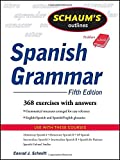 Schaum's Outline of Spanish Grammar, 5ed (Schaum's Outline Series)