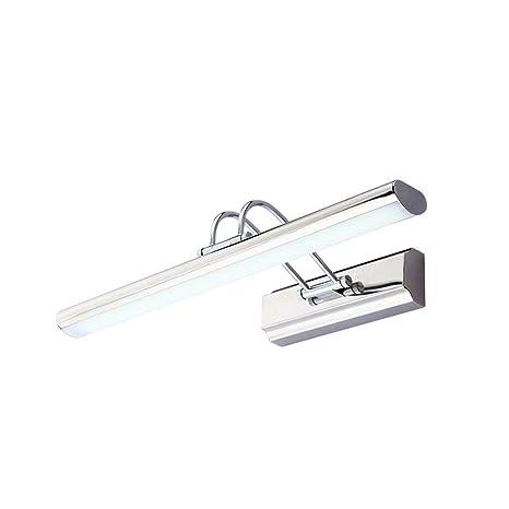 Amazon.com: 15.7 inch 15 W LED lámpara de espejo acero ...