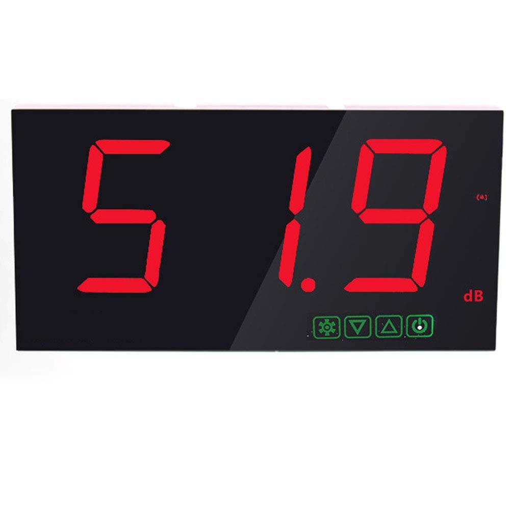 Decibel Meter Noise Detector 30~130Db LCD Display Wall Hanging Decibel Noise Measuring Tester with Data Logger & Alarm,C by Lee Lam