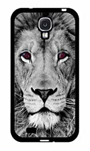 Lion With Nebula Eyes Have a Friend pc pc SILICONE Phone Case Back Cover Samsung Galaxy S4 I9500