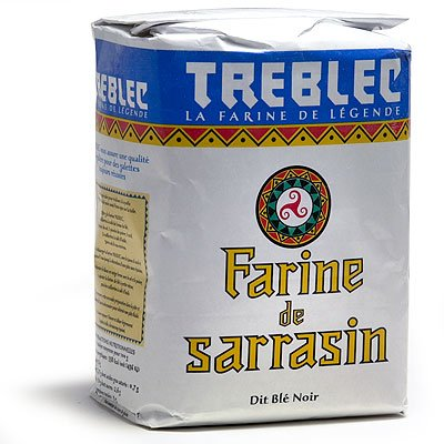 Treblec Farine De Sarrasin - Buckwheat Flour From Brittany - 22 pounds bag ( 2 bags 11 pounds each)