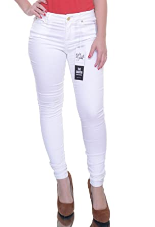 214cd2d3c Celebrity Pink Junior Body Sculpt The Shaper Skinny Jeans, White, 3/26