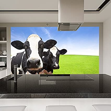 Gentil Azutura Dairy Cows Wall Mural Farm Animals Photo Wallpaper Kitchen Kids  Room Home Decor Available In