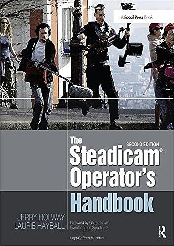 amazon com the steadicam operator s handbook 9780240823805 jerry