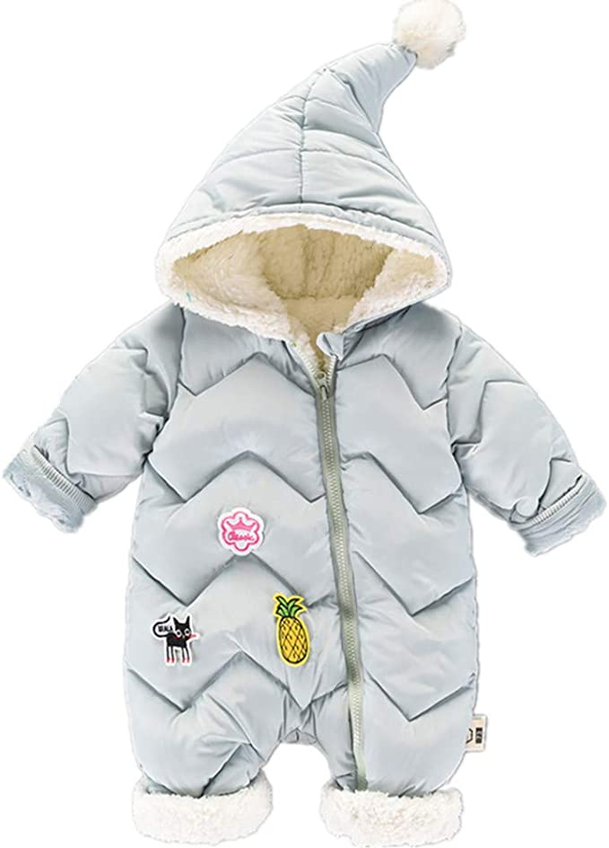 Genda 2Archer Unisex Baby Snow Jumpsuit Winter Rompers