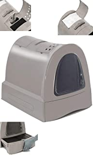 Curver 198859 - Caja de aseo para mascotas, color antracita ...