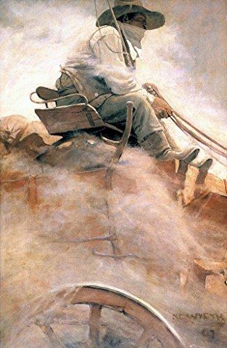 Wells Fargo : N. C. Wyeth : Circa 1907 Western Americana Art Print