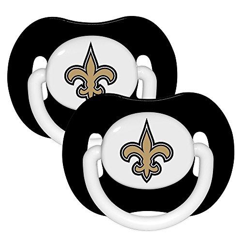 NFL New Orleans Saints 2 Pack Pacifier -