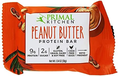 Primal Kitchen, Protein Bar Peanut Butter, 1.34 Ounce