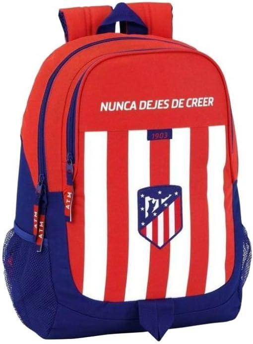 Safta Mochila Escolar Atlético De Madrid Oficial 320x160x440mm ...