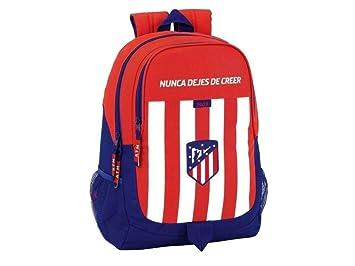 Safta Mochila Escolar Atlético De Madrid Oficial 320x160x440mm: Amazon.es: Equipaje