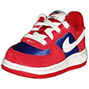 Nike Force 1 TD Gym Red/Sail-Royal Blue Toddler Shoes (5)