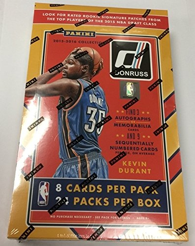 2015/16 Panini Donruss Basketball Hobby Box NBA