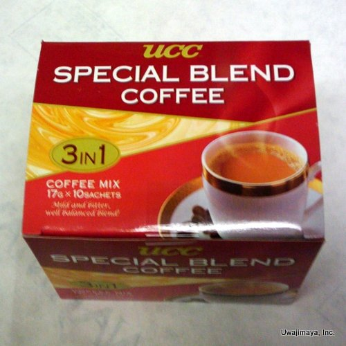 UCC - Special Blend 3 in 1 Coffee Mix (10 Sachets)