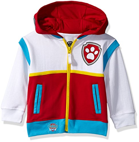 Nickelodeon Toddler Boys Paw Patrol Ryder Costume Hoodie, Multi, 5T]()