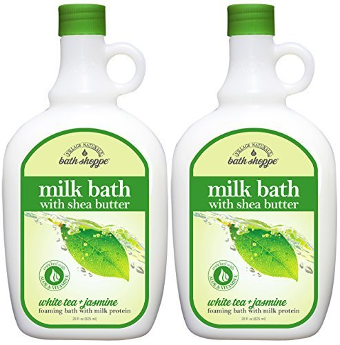 Bath Shoppe White Tea Milk Bath 28 fl oz by Village Naturals