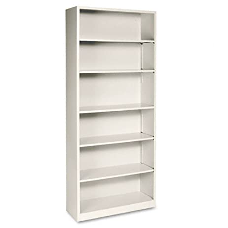 HON 6 Shelf Steel Bookcase   81 Inch