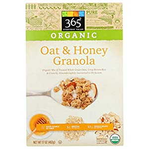 365 Everyday Value, Organic Oat & Honey Granola, 17 oz