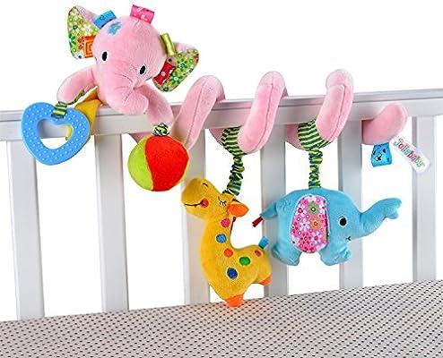 Amazon.com: Juguete en espiral para cama de peluche, juguete ...