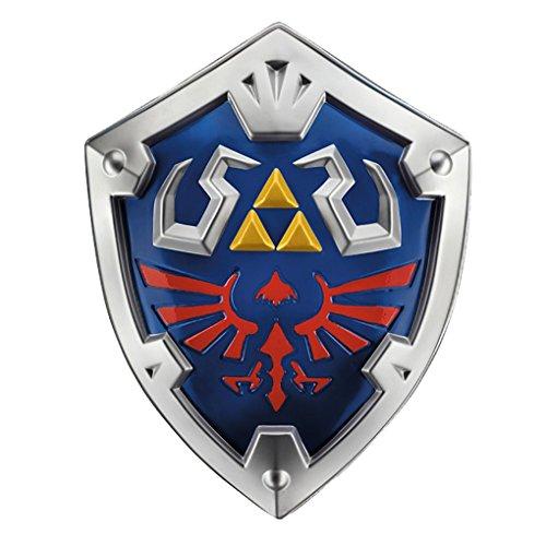 Legend Of Zelda Costume Accessories (Child size Plastic The Legend of Zelda Link Shield - Costume Accessory)