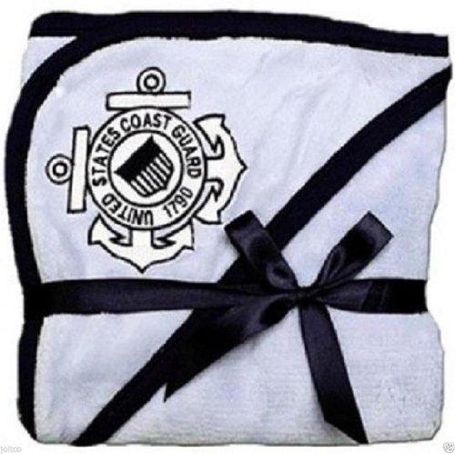 U.S. Coast Guard Licensed Logo Soft Fleece Baby Blanket (USCG Blue)