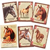 Gift Corral Horse Breeds Playing Cards
