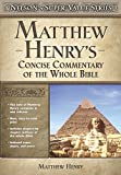 Read the best of Matthew Henry's classic commentary on the Bible in one convenient book. Henry's profound spiritual insights have touched lives for over 300 years. Indexed maps and charts make this a book any pastor, student, Bible tea...