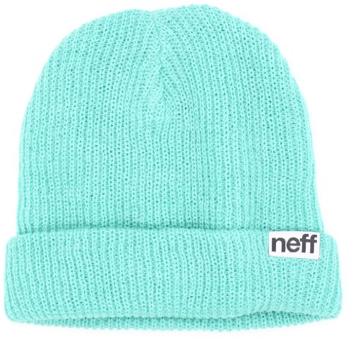 NEFF Men's Fold Beanie, Teal, One Size