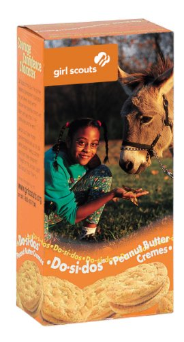 One Case of Girl Scout Cookies Do-si-dos (12 Boxes in Total) ()