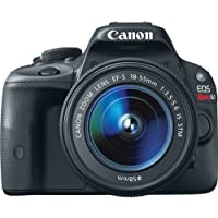 Canon EOS Rebel SL1 18 Megapixel Digital SLR Camera (Body with Lens Kit) - EF-S 18-55mm f/3.5-5.6 IS STM / 8575B003 / International Version (No warranty)