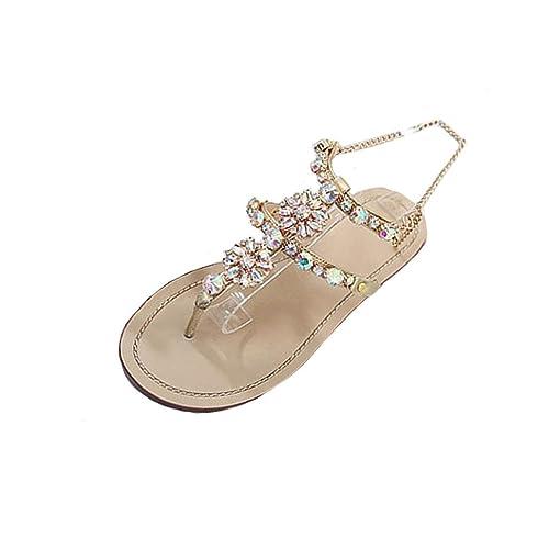051b4ca78977 Kolylong 2018 Femme Bohême Sandales d'été pour Filles Bout Ouvert Plage  Wedge Chaussures Sandales