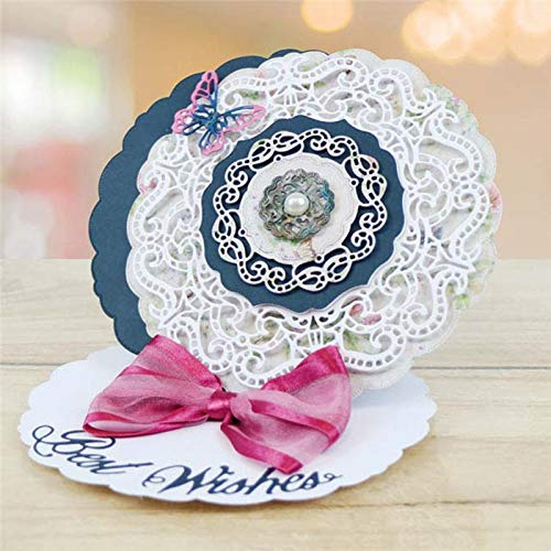 Lace Circle Frame Metal Cutting Dies for Scrapbooking New 2019 Craft Dies Embossing Dies Cuts Card Making Stencils -