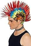 Smiffys Street Punk 80s Mohawk Wig