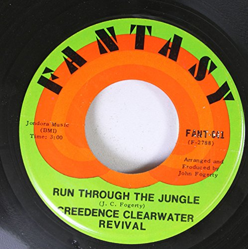 Creedence Clearwater Revival 45 RPM Run Through the Jungle / Up Around the Bend ()